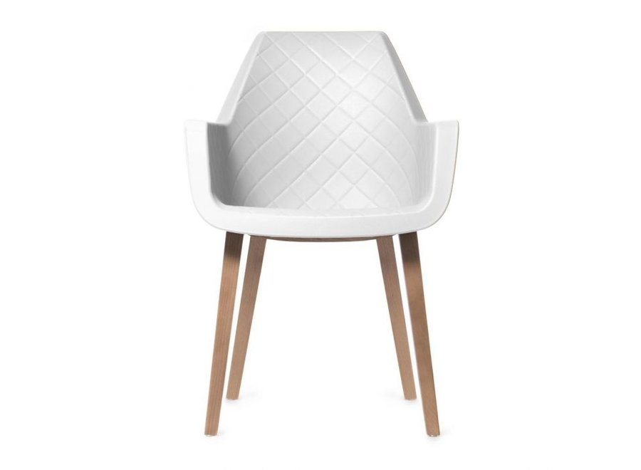 Amsterdam City Dining Armchair Whit