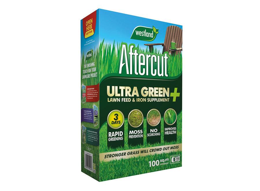 Aftercut Ultra Green Plus Lawn Feed (Covers 100Sqm)