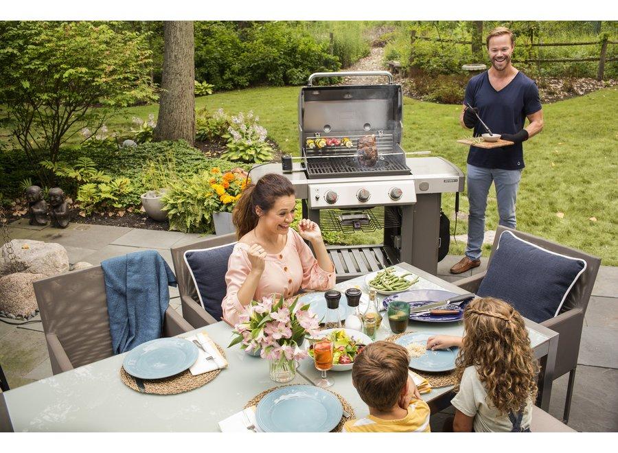Genesis II E-310 GBS Gas Barbecue - Black