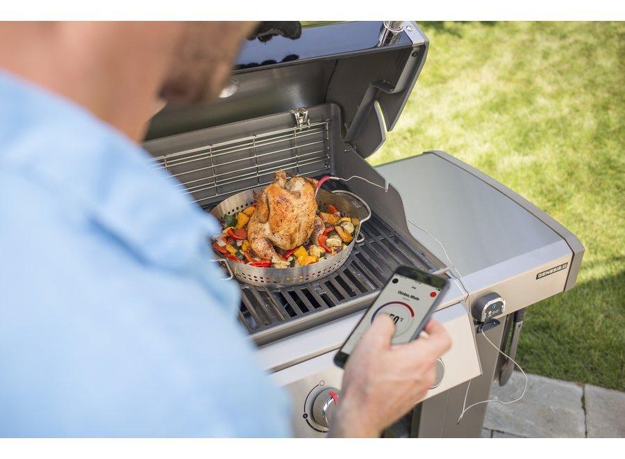 Genesis II E-410 GBS Gas Barbecue - Smoke Grey