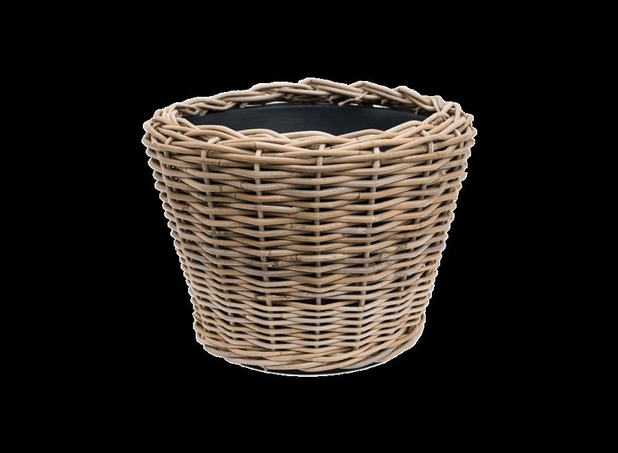 Drypot Round Cylinder In Grey - D83 H61 cm