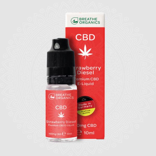 Breathe Organics CBD Liquid Premium -  Strawberry Diesel by Breathe Organics