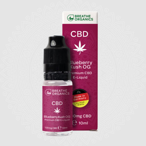 Breathe Organics CBD Liquid Premium - Blueberry Kush by Breathe Organics