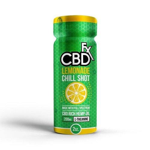 CBDfx CBDfx - Chill Shot 200mg - Lemonade CBD Drink