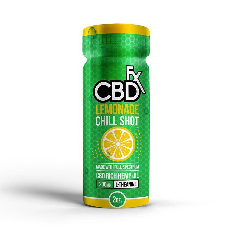 CBDfx CBDfx - Chill Shot 200mg - Lemonade