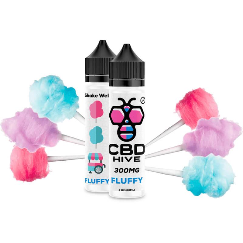 CBD HIVE Premium CBD Vape Fluffy 300MG by CBD Hive