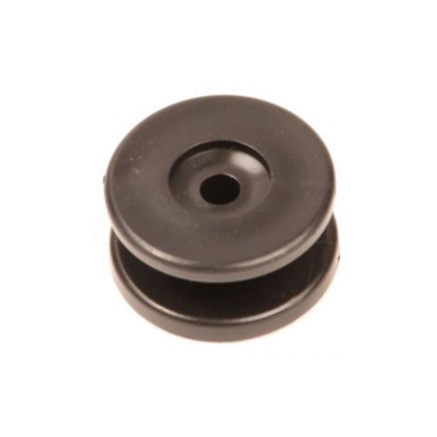 Aanschroef haak 30x15mm rond zwart-1