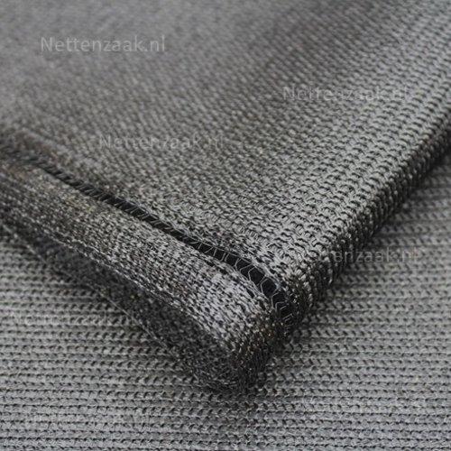 Schaduwdoek 87% zwart 2 meter breed