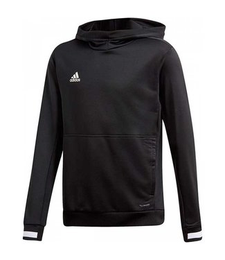 Adidas T19 Hoody Zwart