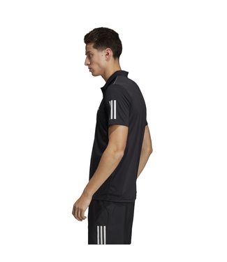 Adidas Club 3stripes Polo Zwart