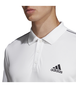 Adidas Club 3stripes Polo Wit