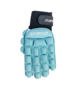Brabo Indoor Glove F2.1 Pro Left Hand Aqua