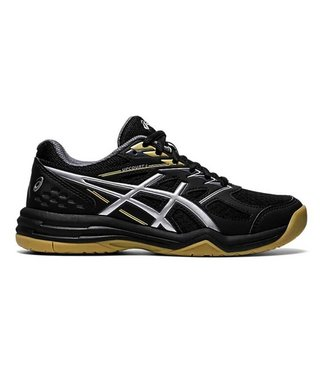 Asics Upcourt 4 Junior Zaalschoen Zwart