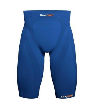 Knapman Zoned Compression Short Performance Blauw