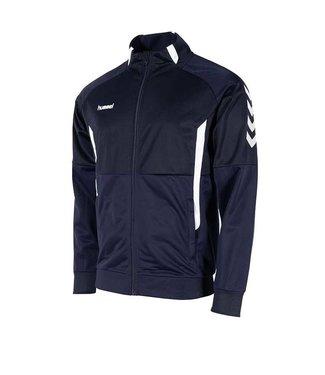 Hummel Authentic Jacket met Rits Navy Blauw junior