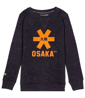 Osaka Deshi Sweater Orange Star Navy Melange