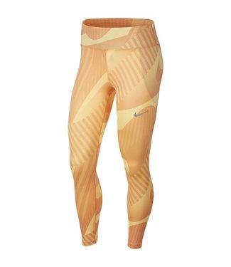 Nike Fast Running Tight Hardloopbroek Dames Oranje