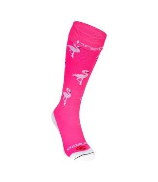 Brabo Socks Flamingo Neon Pink