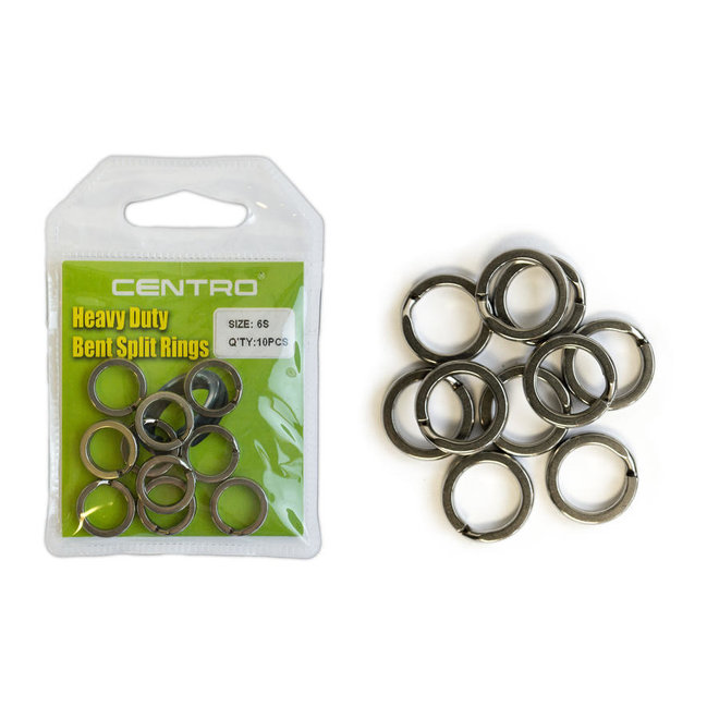 Centro Heavy Duty Bent Split Rings
