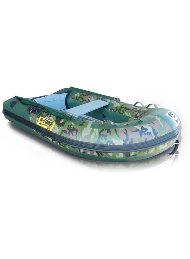 N-Force Speed Camo & Green Inflatable Boat