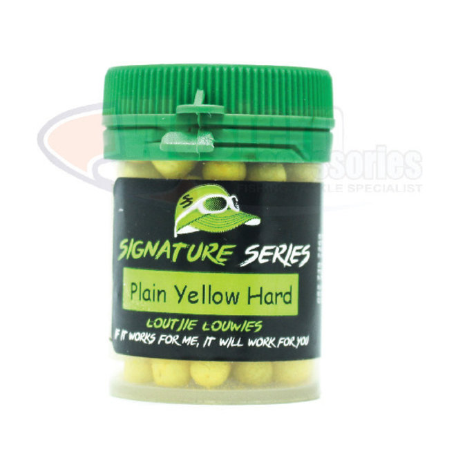 Loutjie Louwies Signature Series Hard Float 50ml  Plain Yellow