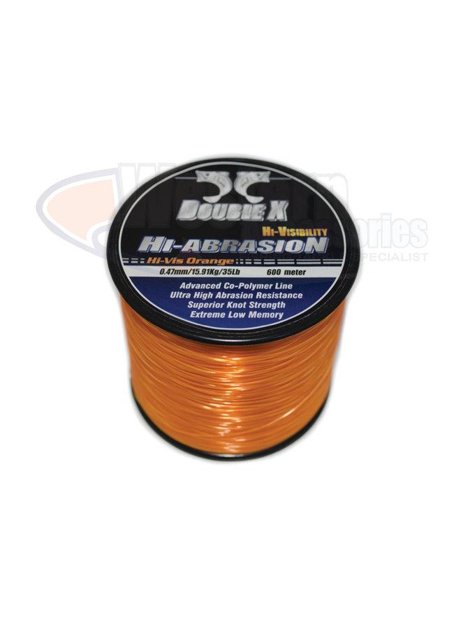 Double X Hi-Abrasion Orange 600m 7lb