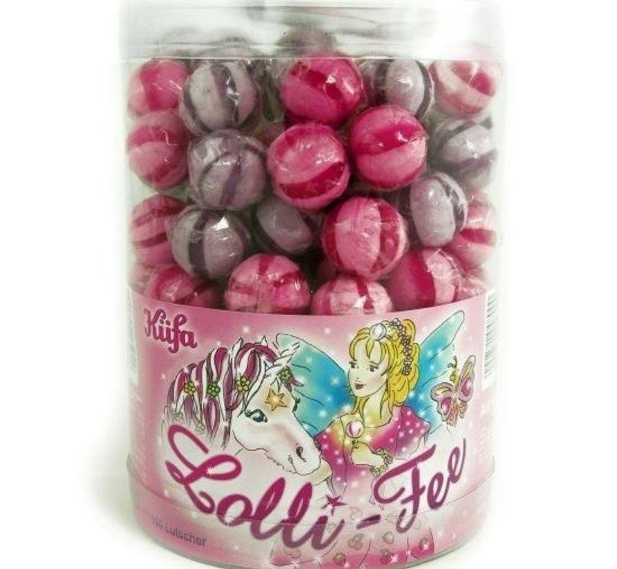 Fee Lolly Lila Roze silo ca. 100 stuks