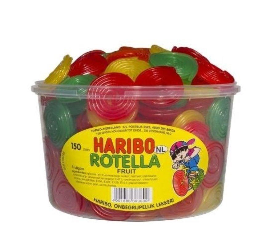 Rotella Jo-Jo Fruit Haribo -Silo 150 Stuks VEGGIE