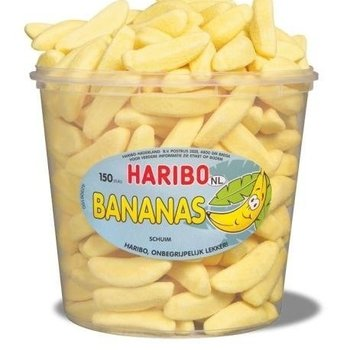 Haribo Schuim Bananen Haribo Silo 150 Stuks