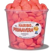 Haribo Schuim Aardbeien Haribo Silo 150 Stuks