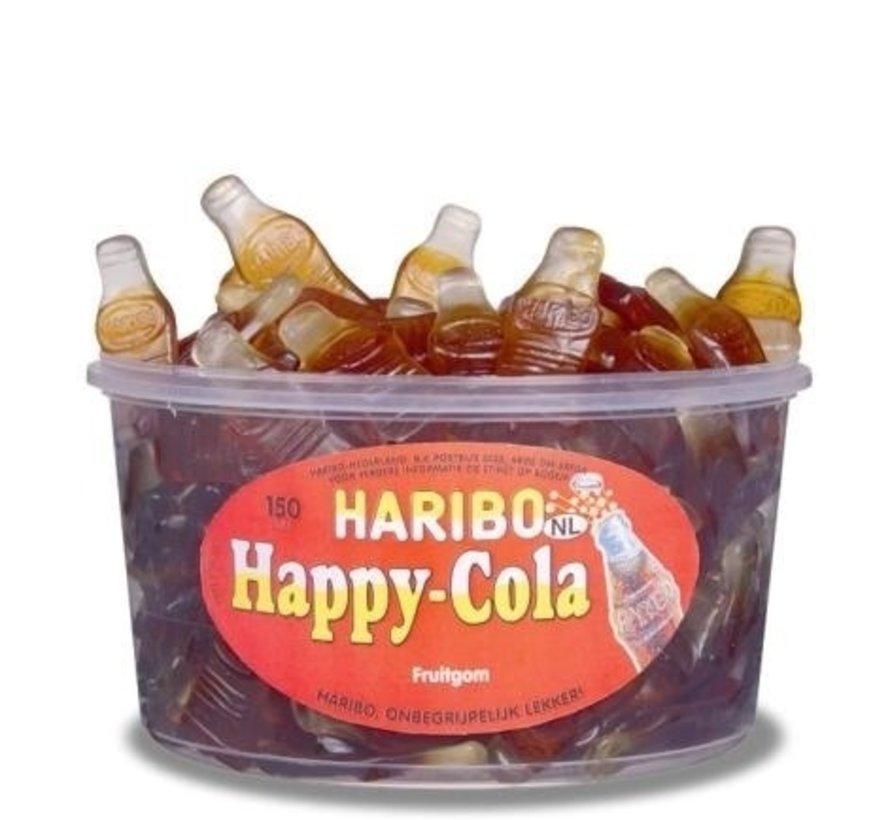 Haribo Colaflessen Groot Silo 150 Stuks