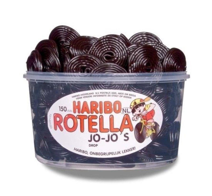 Rotella Jo-Jo Drop Haribo -Silo 150 Stuks VEGGIE