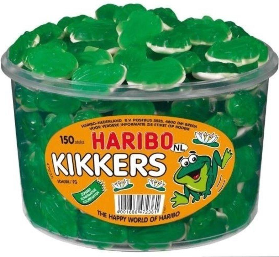 Groene Kikkers Haribo Silo 150 Stuks