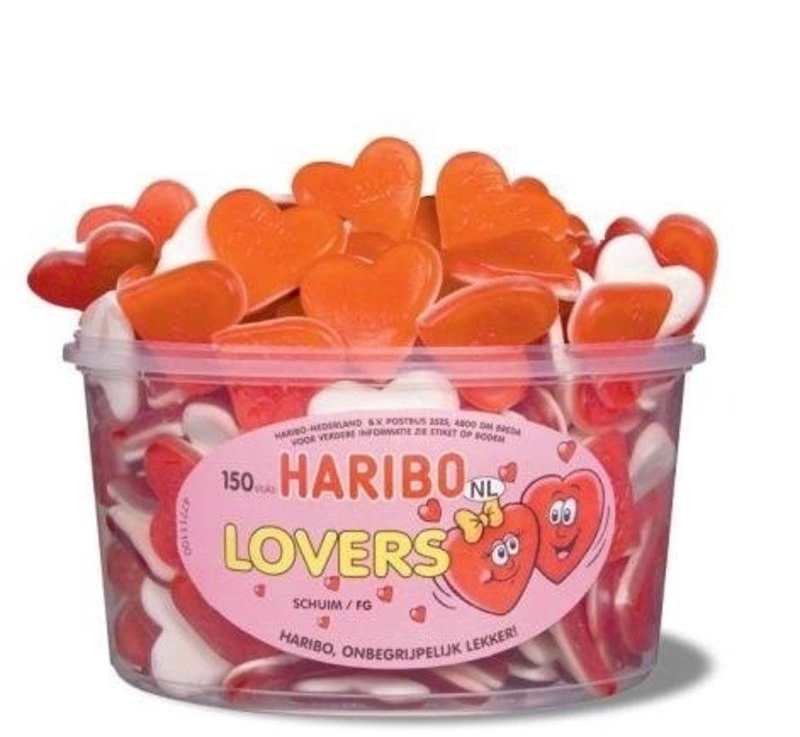 Valentijn Love Harten Haribo Silo 150 Stuks