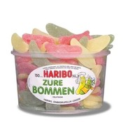 Haribo VEGGIE Zure Bommen - Silo 150 Stuks