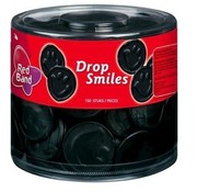 Red Band Red Band Drop Smiles Groot - Silo 100 Stuks