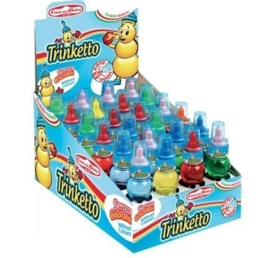 Trinketto Colour -Doos 24 Stuks