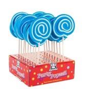 Holland Foodz Spiraal Lolly Blauw -Doos 17 stuks