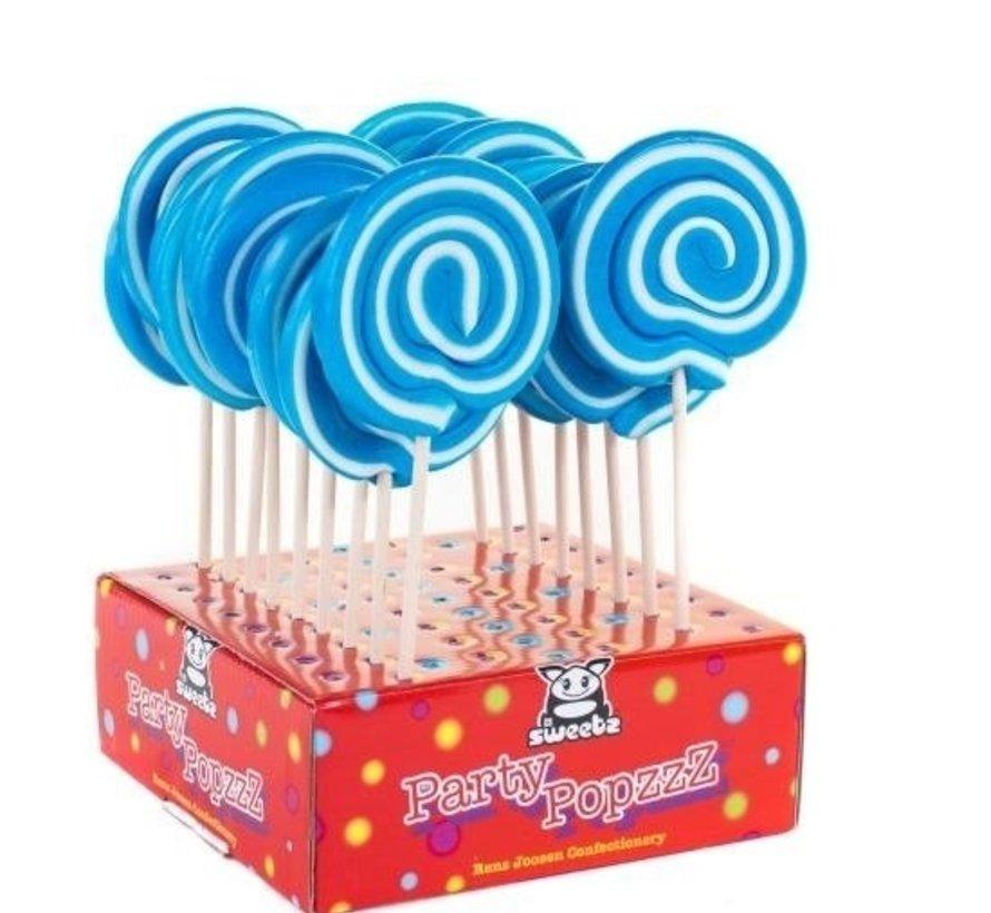 Spiraal Lolly Blauw -Doos 17 stuks
