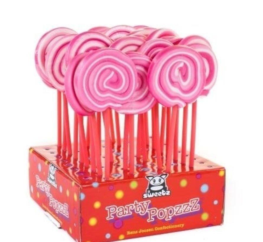 Spiraal Lolly Roze