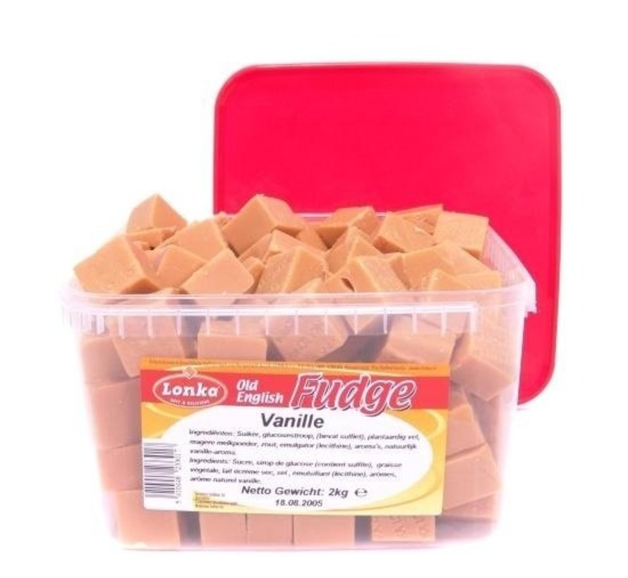 Lonka Vanille Roomboter Caramels -2 kilo