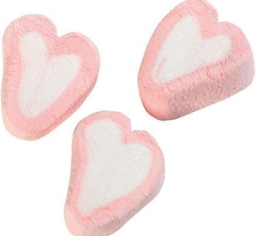 Spekjes Valentijn Hartjes Roze Met Wit -1 Kilo