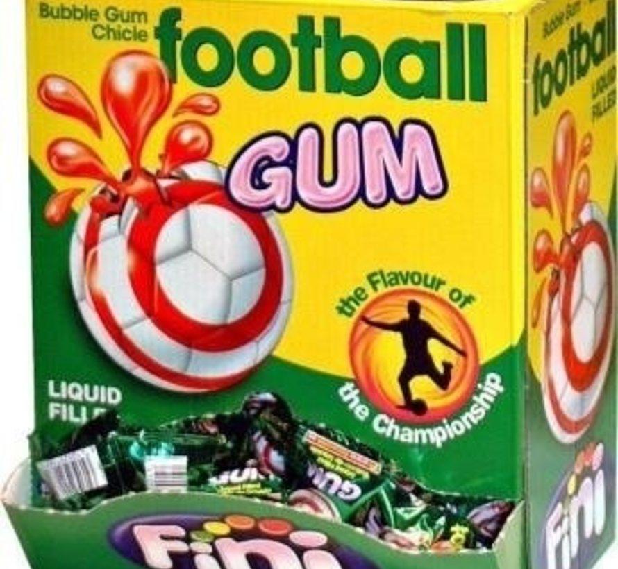 Voetbal Gum Gluten Vrij -Doos 200 Stuks