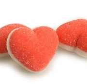Damel Roze Hartjes - Gluten Vrij & Halal approved