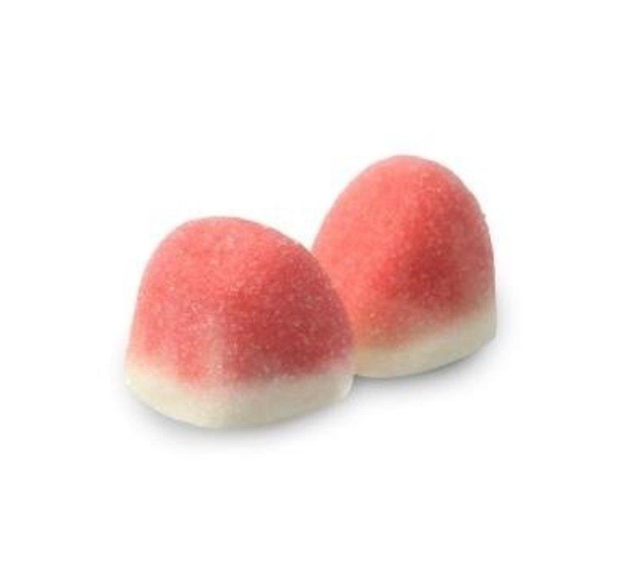Roze Aardbei Kusjes  - Gluten Vrij & Halal Approved