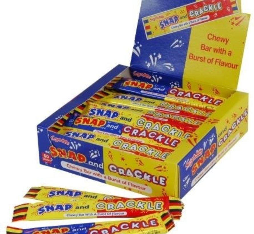 Snap And Crackle VEGGIE- Doos 60 Stuks