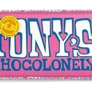 Tony'S Chocolonely Tony'S Chocolonely Wit Framboos Knettersnoep Doos 15 Stuks
