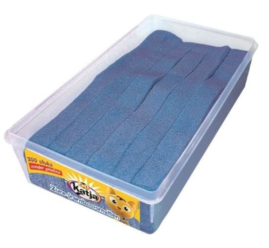 Zure Blauwe Matten Framboos Veggie - Silo 200 Stuks