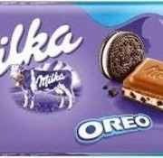 Milka Milka Oreo 100 Gram -Doos 22 Stuks