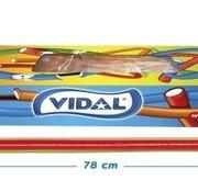 Vidal Maxi Kabels Rainbow Doos 80 Stuks Vidal